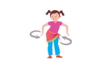 Fördern Sie mit Hüftschwung das Gleichgewicht der Kinder