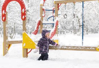 Schneeballlauf – so macht toben auch bei kalten Temperaturen Spaß