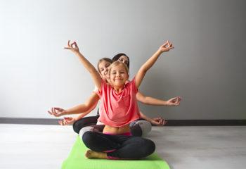 """""""Yoga"""" für die Kleinsten"""