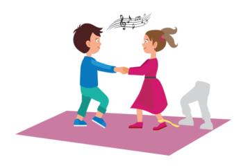 Diese 3 kreativen Tanzspiele stärken mit viel Bewegung den Zusammenhalt und die Teamfähigkeit der Kinder